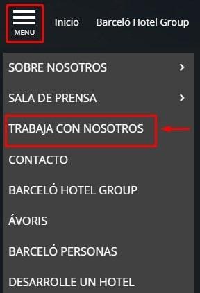 Trabaja en la red hotelera del Grupo Barceló